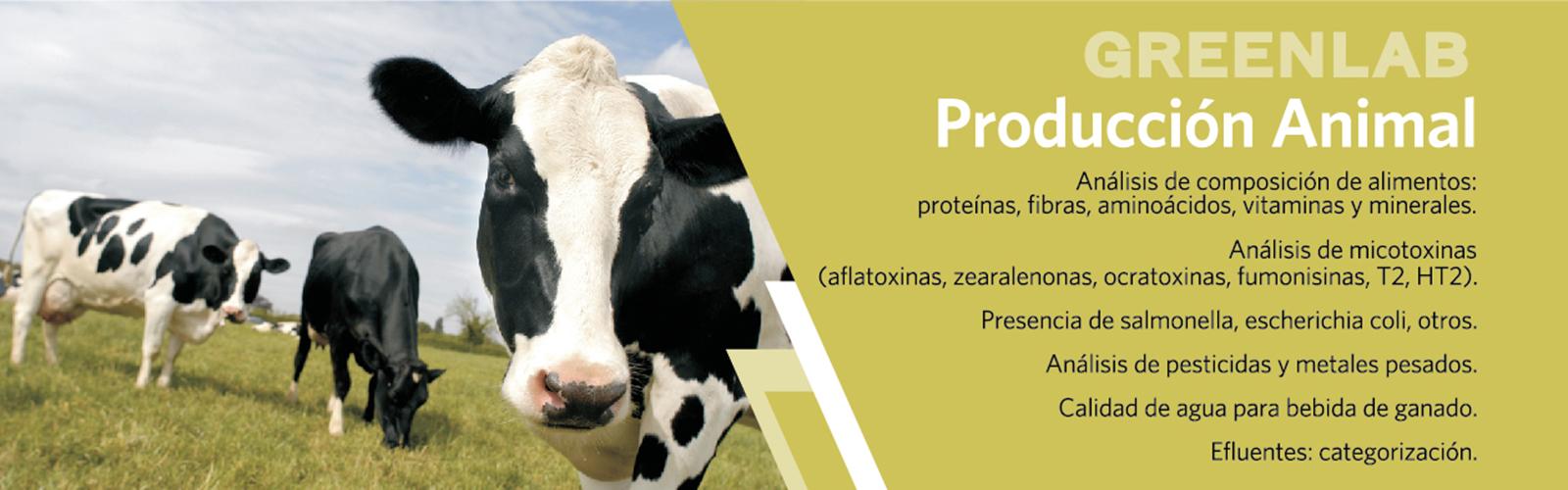 Composici�n de alimentos, micotoxinas, bacterias, pesticidas y metales pesados, calidad de agua para ganado, categorizaci�n de efluentes