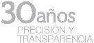 30 años Precisión y transparencia